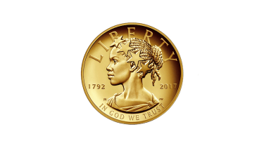 A groundbreaking American coin.