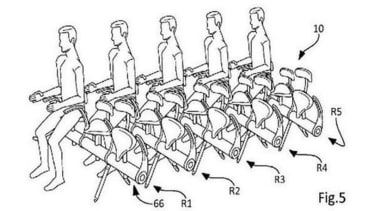 New seat design could squeeze even more passengers onto airplanes