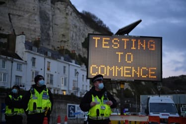 Testing in England