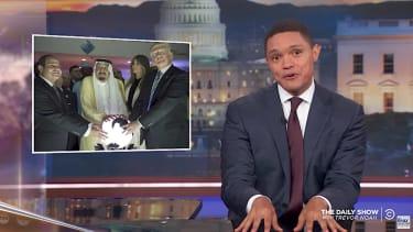 Trevor Noah recaps Trump trip abroad