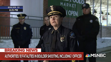 Boulder police chief on mass shooting