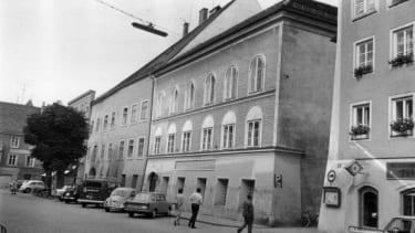 Adolf Hitler's birthplace, as seen in 1970.