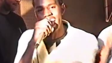 Watch a 19-year-old Kanye West rap at a record store