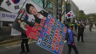 South Korean ex-leader Park Geun-hye convicted