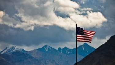 A U.S. flag flies at Denali National Park in Alaska: The 49th state is home to a persistent secessionist movement.