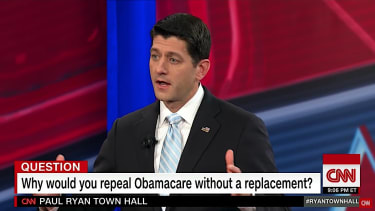 Paul Ryan talks about replacing ObamaCare