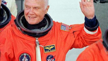 Former senator and astronaut John Glenn.