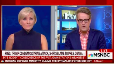The Morning Joe hosts think it is time for President Trump to stop blaming Obama.
