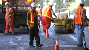 City workers