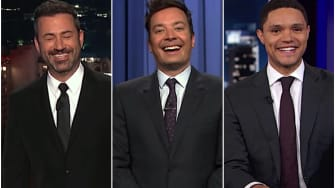 Late-night comedians laugh at the Space Force