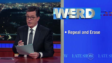Stephen Colbert tackles ObamaCare