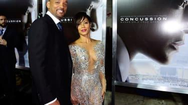 Will Smith and Jada Pinkett Smith.