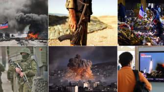 Violence and terror around the world.