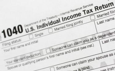 1040 U.S. Individual Income Tax Return form