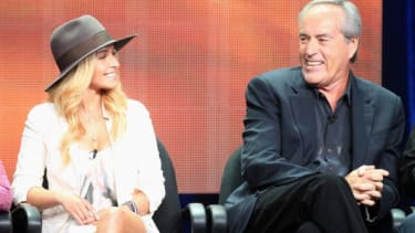 Hayden Panettiere and Powers Boothe.