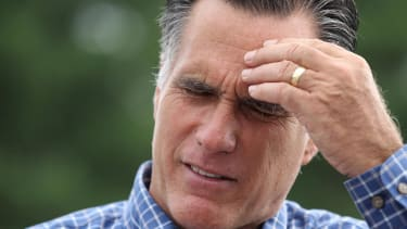 Mitt Romney says Joni Ernst 'didn't just sit at home needle-pointing'