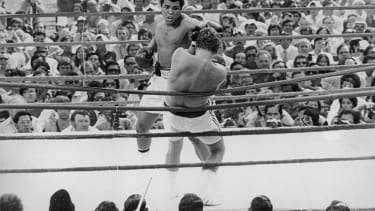 Muhammad Ali fights in 1975