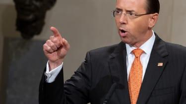 Deputy Attorney General Rod Rosenstein in Washington