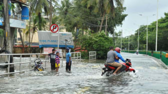 Flooding in India.