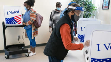 Early voters in South Carolina.