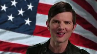 Adam Scott reprises his Step Brothers role for ObamaCare