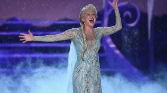 Caissie Levy performs at the 72nd Annual Tony Awards