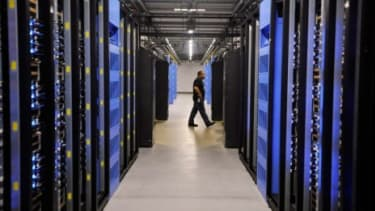 Facebook's newest data center in Forest City, N.C.: The information generated by the site's nearly one billion users requires these outsize server facilities.
