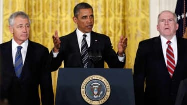 President Obama doesn't want a Chuck-Hagel filibuster repeat for John Brennan.