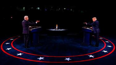 President Trump and President-elect Joe Biden.