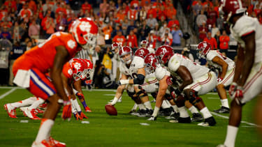 The Alabama Crimson Tide beat the Clemson Tigers in the 2016 College Football Playoff National Championship Game.