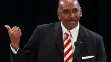 The former head of the RNC, Michael Steele, has been hired as an analyst by left-leaning MSNBC.