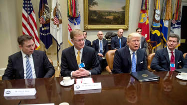 Elon Musk throws in the towel on Trump business council
