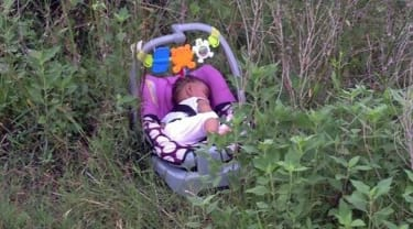 Woman makes big discovery during jog: a missing baby