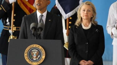 Hillary Clinton describes her 'awkward first date' with Obama