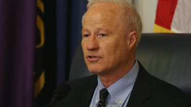 Rep. Mike Coffman is in trouble with his constituents.