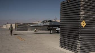 Bagram Air Base in Afghanistan