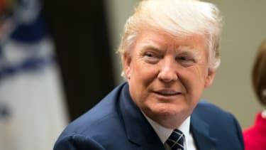 Donald Trump calls leaked tax returns 'fake news!'