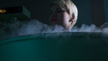 Although it looks like something out of a scary movie, cryotherapy is all the rage right now.