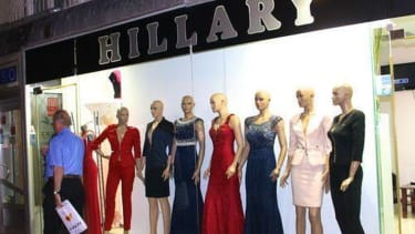In Kosovo, shoppers flock to a store selling Hillary Clinton–inspired clothing