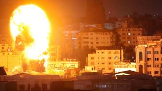 Gaza City explosions