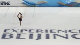 A figure skater.
