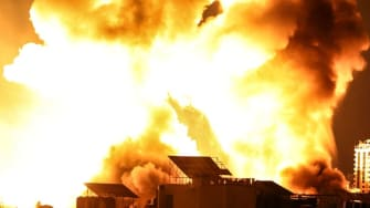Fire in Gaza