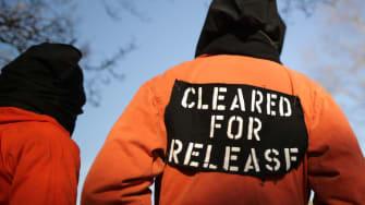 Guantanamo protesters