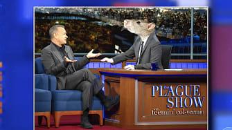 Stephen Colbert as a rat