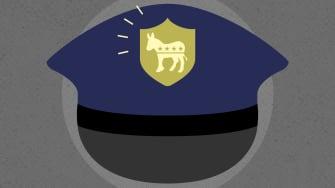 A police cap.