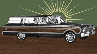 A station wagon.