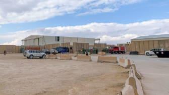 Ain al-Asad airbase in Iraq.