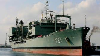 Iranian warship Kharg