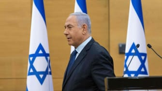 Netanyahu at the Knesset