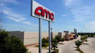 An AMC sign